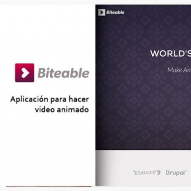 Biteable, una herramienta web de video animado gratuita