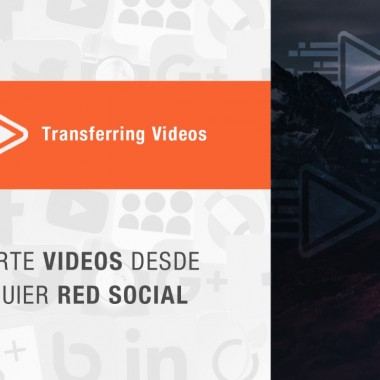 'Transferring Videos' comparte fácilmente videos de una red social a otra